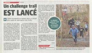 Un Challenge trail est lancé