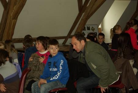 17/03/2014, animation PNVH amphibiens, école St Joseph de Couvin 4ème primaire.