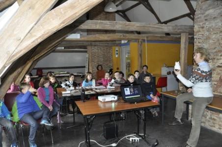 11/03/2013 - AR Couvin (3e prim - 1er groupe) - Expo PNVH Chouettes et hiboux