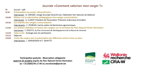 Invitation Journée transfrontalière Verger32
