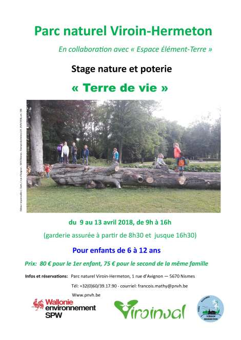 stage nature et poterie