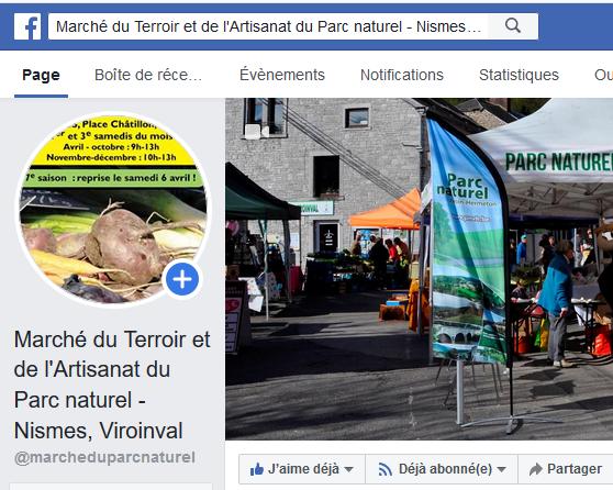 La Page FB du Marché de Terroir & Artisanat Pour être au courant de tout ce qui concerne le Marché du Par naturel