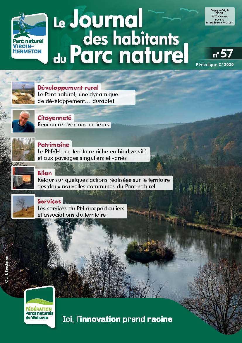 Couverture du Journal des habitants du Parc naturel N°57